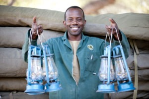 Botswana mobile safari staff