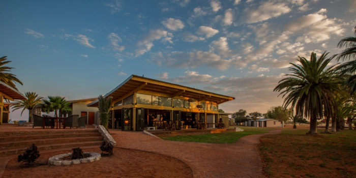 Kalahari Anib Lodge Main Area
