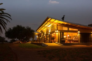 Kalahari Anib Lodge Outside