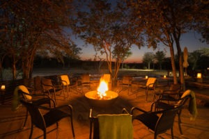 Ongava Tented Camp Fire