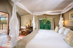 Ongava Tented Camp Room Interior