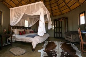 africa on foot bedroom interior
