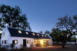 babylonstoren cottage night