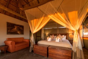 camp hwange room interior