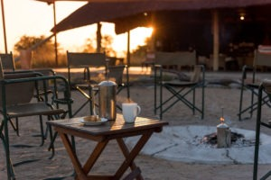 camp hwange sunrise coffee