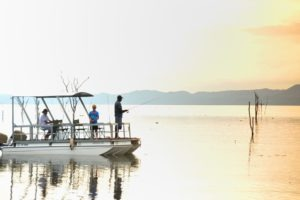 changa safari camp boat fishing