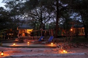 changa safari camp camp night