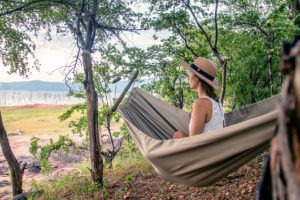 changa safari camp hammock
