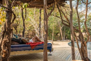 changa safari camp pool lounge