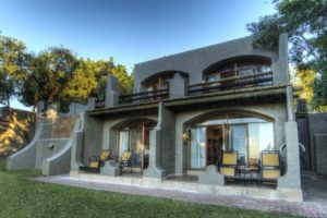 chobe game lodge room exterior