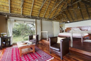 kwando lagoon camp room lounge