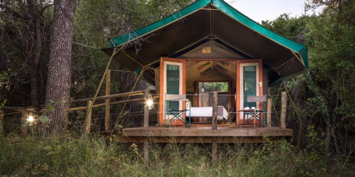 mashatu tented camp outside