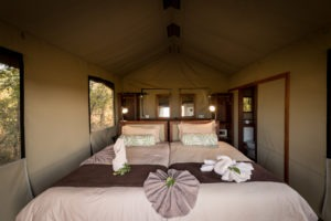 motswiri camp double bed