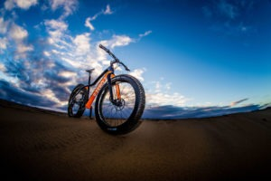 namibia fat bike photo of bike