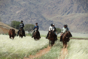 namibia horse riding expedition