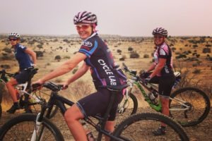 northern tuli botswana cycling safari happy rider