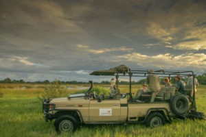 okavango delta bush skills training game drive skills