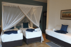 phezulu guest lodge triple