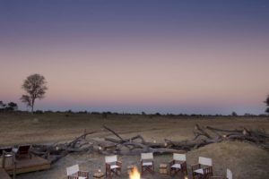 somalisa expeditions hwange campfire night