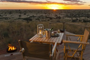 tswalu kalahari private dinner