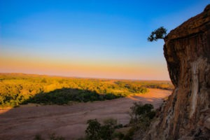tuli botswana sunset views walking