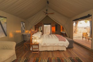 verneys camp hwange double bed