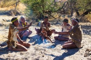 Botswana Bushmen Activity