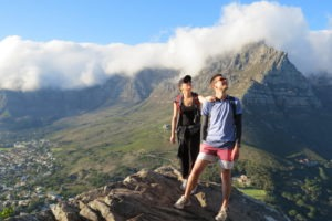 Cape Town South Africa Table Mountain Hiking Lions Head
