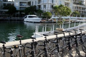 Cape Town South Africa Waterfront Cycling