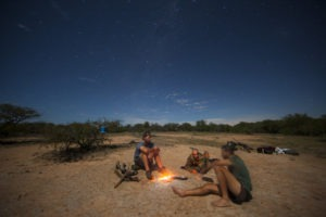 Greater kruger national park sleep under stars camping walking safari