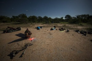 Greater kruger national park sleepout under stars