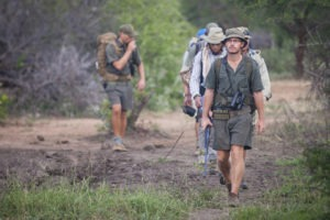 Greater kruger national park walking