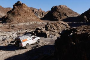 Northen Namibia Damaraland self drive rough terrain