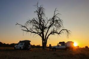 Northern Botswana Self Drive Safari Camping Sunset