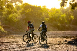 Northern Tuli Mashatu Botswana Cycling Safari