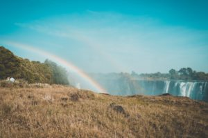 Victoria Falls View from Zimbabwe Rainbow