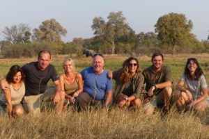 Gesa and Frank Safari Group