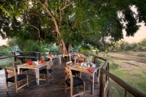 Pafuri Makulele Kruger National Park Outdoor Dining Deck