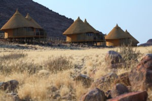 Sossus Dune Lodge Rooms External View