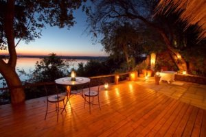 Zambia Livingstone views of river five star lodge