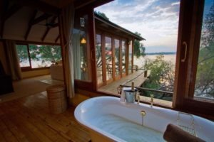 Zambia livingstone tongabazi dog house bath with a view