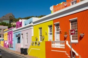 cape town south africa bokaap colour houses