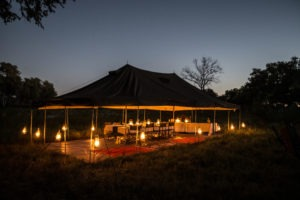 golden africa safaris dinner night