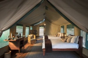 kanga camp mana pools bedroom