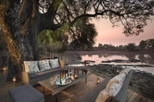 kanga camp mana pools lounge view