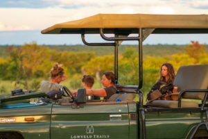 lowveld trails co south africa walking safaris guests vehicle