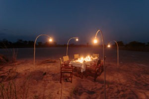 nkozi camp south luangwa dining