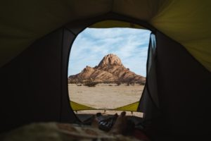 northern namibia spitzkoppe jason and emilie safari photo from tent