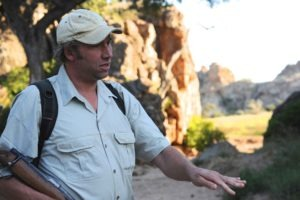 our partners safari guide Stuart Quinn