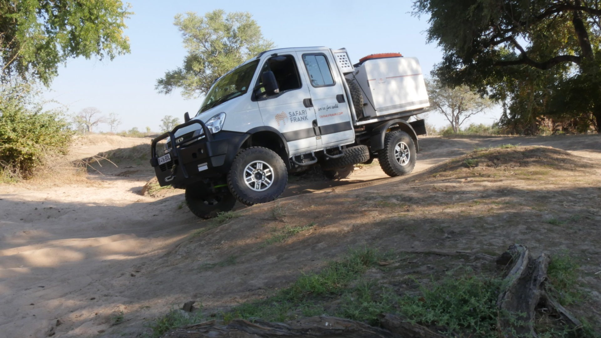 the frankmobil offroad capabilities